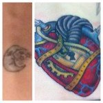heart cover up moon